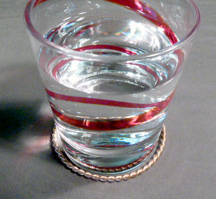 Tensor Rings Water glass